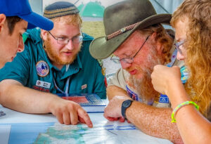 Studying Jewish History at the 2017 National Scout Jamboree