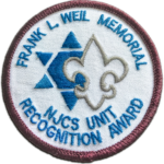 patch for Frank L Weil Memorial Unit Recognition Award